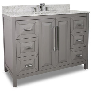 Hardware Resources Cade Contempo Vanity in Greys