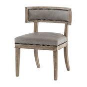 Kensington Carter Dining Chair, Light Gray