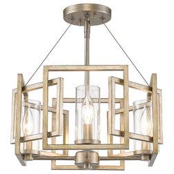Transitional Flush-mount Ceiling Lighting by Golden Lighting