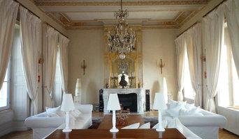 Aménagement et décoration d'une pièce de réception à ARGENTAN