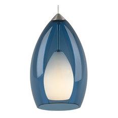 tech lighting tech lighting low voltage satin nickel fire pendant steel blue blue pendant lighting