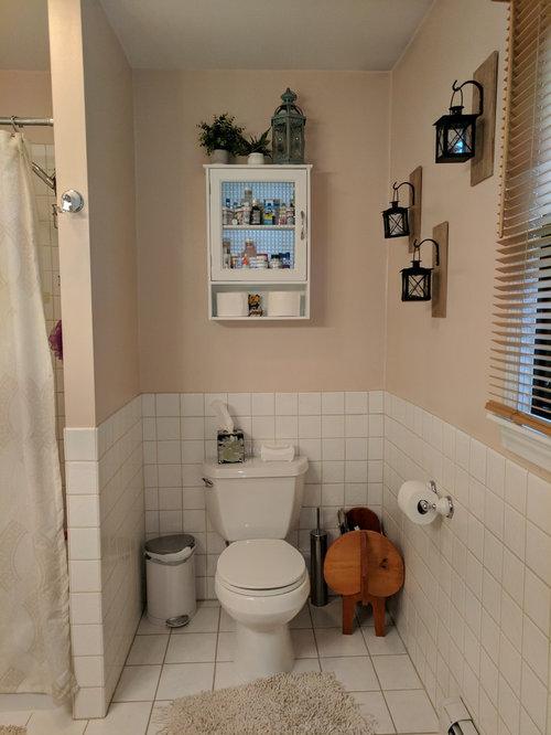 Small bathroom makeover!