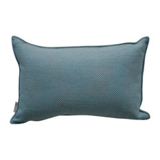 Cane-Line Rectangular Throw Pillow, Turquoise
