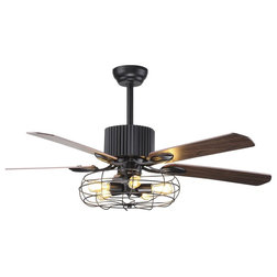 Industrial Ceiling Fans by Houzz