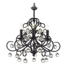 gallery versailles wrought iron and crystal chandelier chandeliers