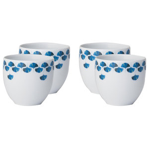 Gingko Love Coffee Cup, Set of 4