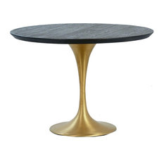 Dovetail Furniture   Dining Table Dovetail Cole Round 42 Inch   Dining  Tables