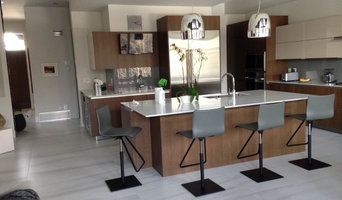Kitchen Island Mitred Edge