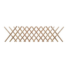 VidaXL Impregnated Expandable Wooden Trellis Fence, 250x80 cm