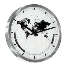 Airport World Time Wall Clock