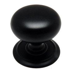 Cosmas 6542FB Flat Black Cabinet Knob