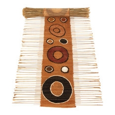 Swahili Circle Print Twig Table Runner