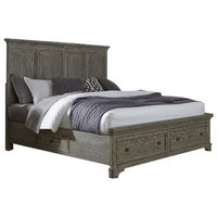 Liberty Furniture Highlands Two Sided Storage Bed, King