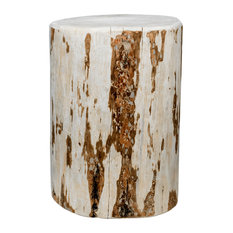 Montana Collection Cowboy Stump 25-inch High Occasional Table Clear Lacquer Finish