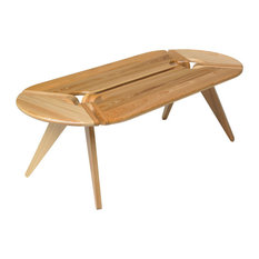 46-inchx14-inch Oblong Coffee Table Cypress