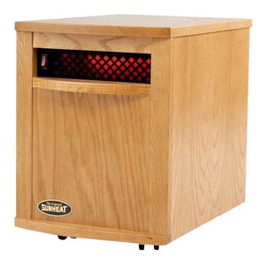 Usa1500 5 Year Warranty Infrared Heater, Fully Made, The Usa- Cherry