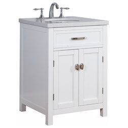 Transitional Bathroom Vanities And Sink Consoles by Crawford & Burke