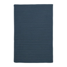 Colonial Mills, Inc - Simply Home Solid Rug, Lake Blue, 10'x13' - Outdoor Rugs