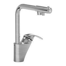 Parmir Dual Handle Kitchen Faucet, Seperate Drinking Water Valve