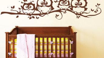 Kinderzimmer - Wandtattoos