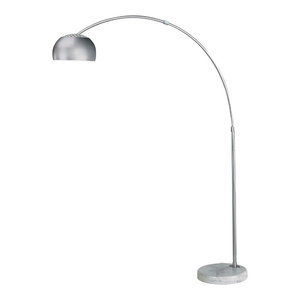 George Kovacs George S Reading Room Floor Lamp Chrome