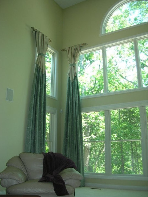 two story drapery - Curtains