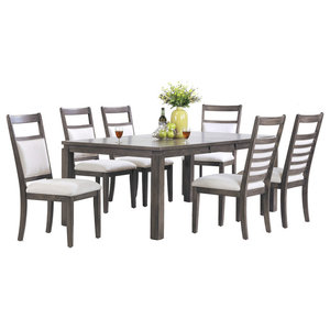 Shades Of Gray 7 Piece Dining Set