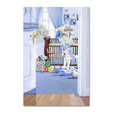 "The Macneil Studio 'Boy's Room' Canvas Art, 16"" x 24"""