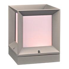 Helmsley 1-Light Outdoor Fixture, Silver