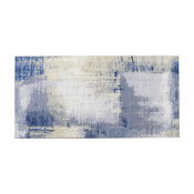"""8""""x16"""" Cement Blue Jeans Glass Wall Tile, Set of 18"""