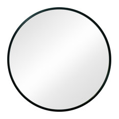 Circular Mirror With Rubber Rim for Extra Durable and High-Traffic Areas