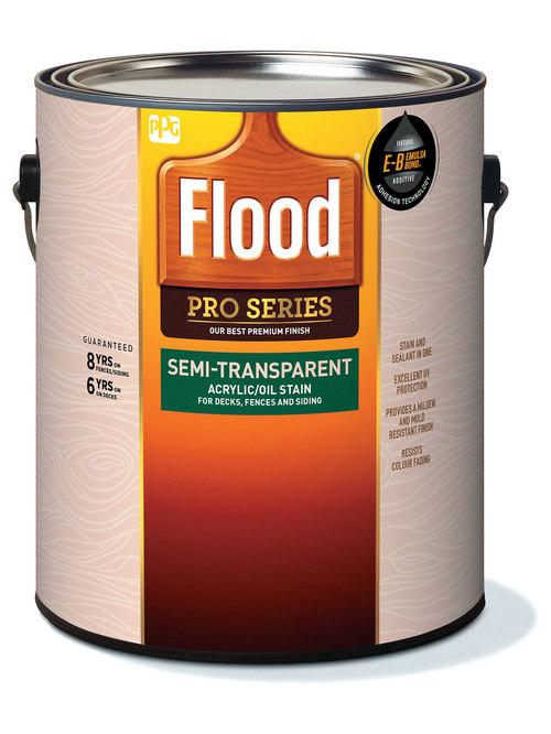 Flood Semi Transparent Wood Stain Reviews Flood CWF Oil