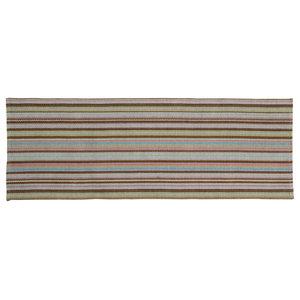 Handwoven Provence Cotton Rug, Multicolour, 70x200 Cm