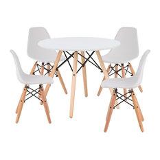 Aron Living Paris Kids Playroom Table and 4 Chairs