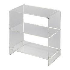 Butler Crystal Clear Acrylic Bookcase