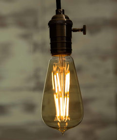 You Can Now Create A Vintage Cosy Atmosphere With LED Filaments Light Bulb.  They Last Up To 30,000hours And Only Consume 6W. They Will Be Perfect In  Your ... Part 74