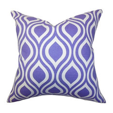 "Poplar Geometric Pillow Purple 20""x20"""