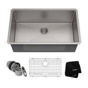 """30"""" Undermount Stainless Steel Kitchen Sink"""