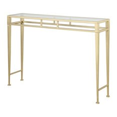 Convenience Concepts   Hall Console Table, Gold   Console Tables