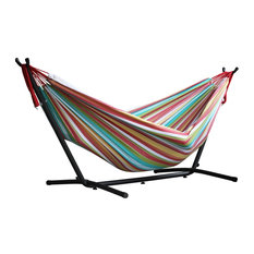 Vivere's Combo, Double Salsa Hammock With Stand, 9' New