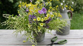 DIY: composizione con fiori spontanei, giugno