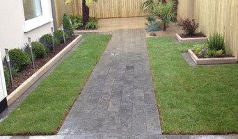 Retro garden space