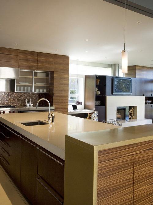 Concrete Kitchen Houzz
