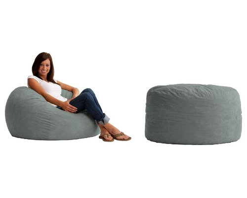 Modern Bean Bag Furniture GrownUp Chic Or OldSchool Has Been Apartment Therapy To T