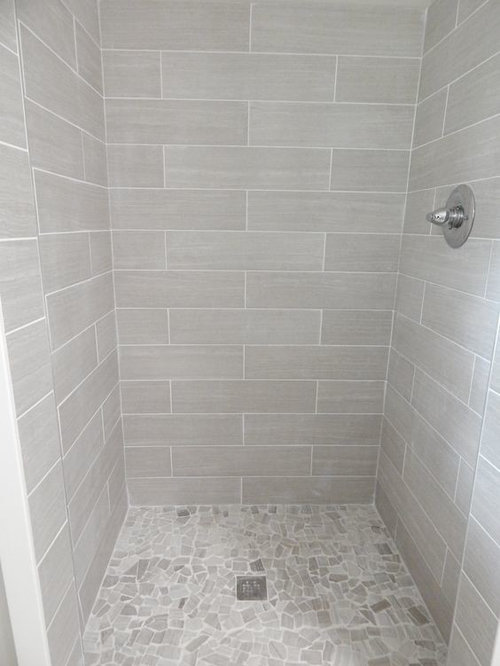 Bathroom White Or Gray Grout