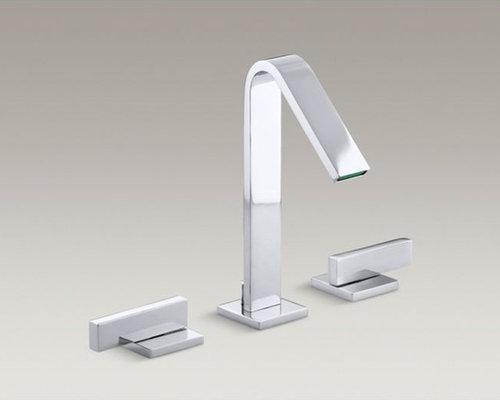 Loure(R) widespread bathroom sink faucet with lever handles - Bathroom Sink Faucets