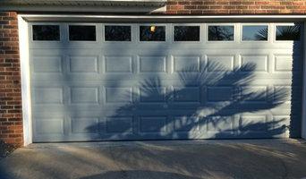 Subdivision garage door perked up