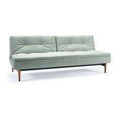 Dublexo Sofa Bed, Stainless Steel Legs, Mixed Dance Natural