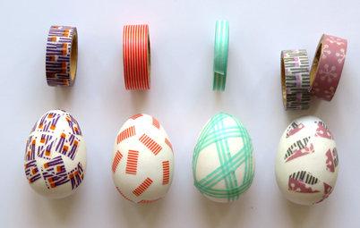 Fai da Te: Decorare le Uova di Pasqua con il Washi Tape