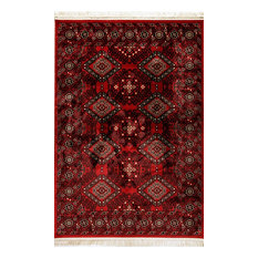 """Dynamic Rugs Crown 16225 Area Rug, Red, 9'2""""x12'10"""" Rectangle"""